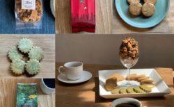 自家製焼菓子と10月の森のコーヒーペアリング紹介