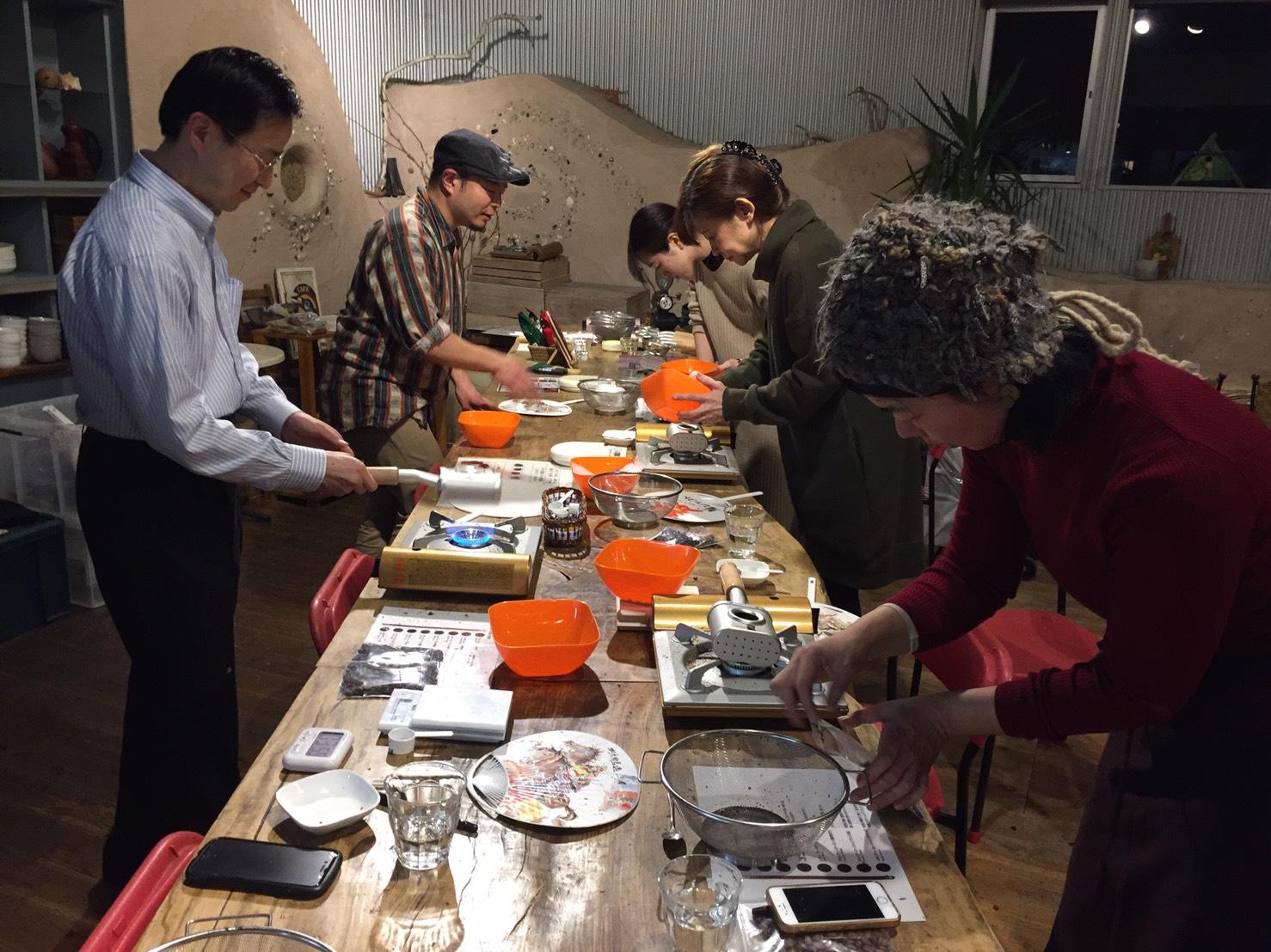 \レポート/1/26(日)開催『森のコーヒー手煎り焙煎ワークショップ』