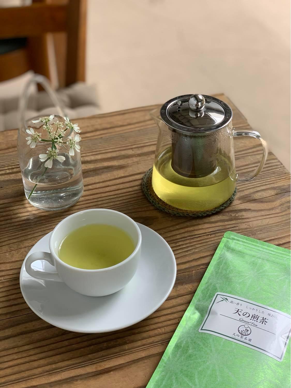 「 天の煎茶 」:6月のドリンク新メニュー