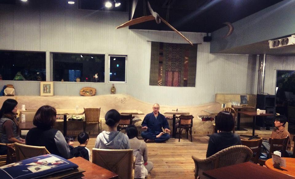 次回11/19火夜開催『Zen cafe ~ 坐禅と禅のお話』