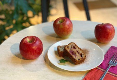 「果樹園木楽のジェネバと杏子赤ワイン煮のケーキ」:2019年9月デザート新メニュー