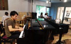 9/1日曜『はしむかいゆうき Sunday slow cafe music』