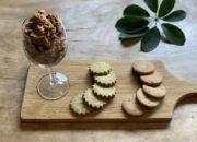 初秋のクッキー「天の煎茶塩麴クッキー」&「マスコバド糖とカカオニブクッキー」