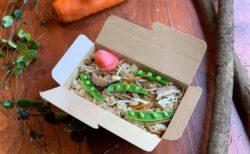 『有機認証の食材だけで作った炊きこごはん』テイクアウト新メニュー&宅配始めます!