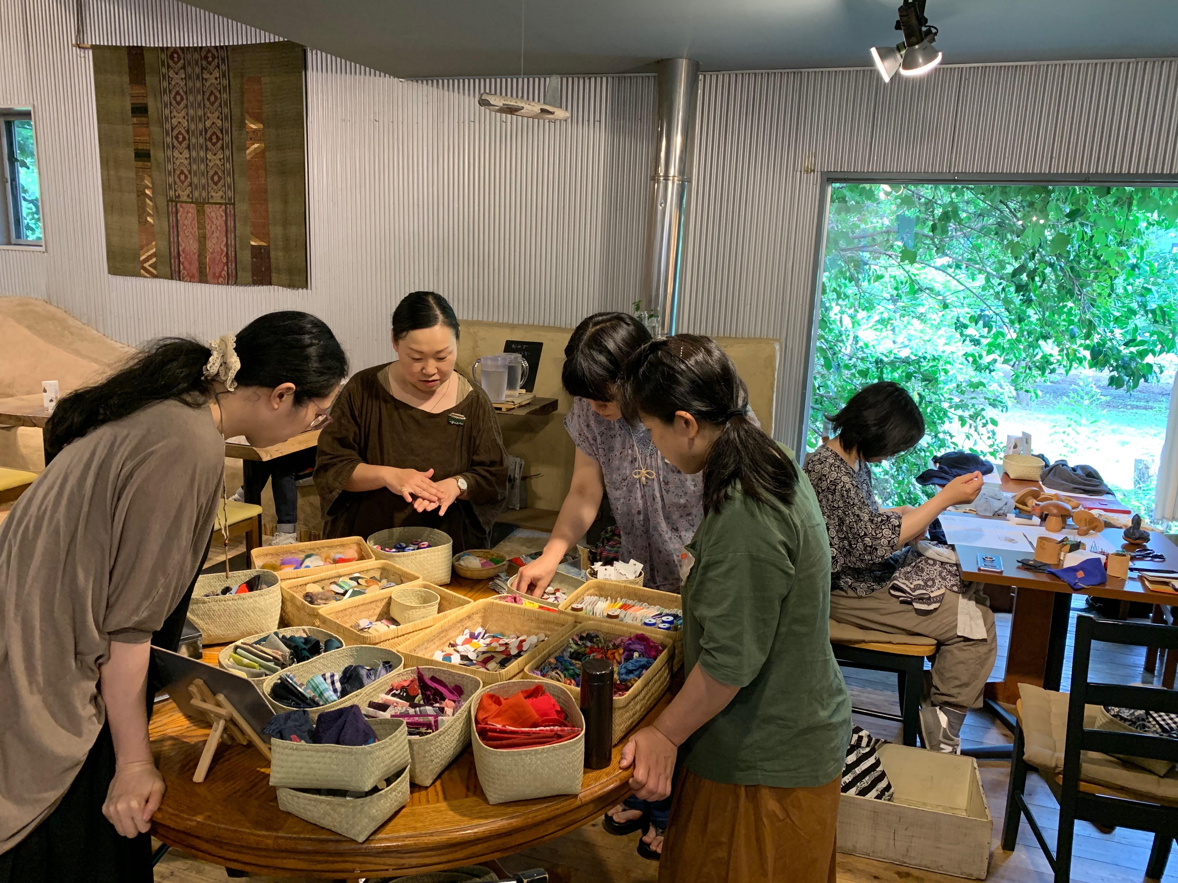 【満員御礼!】11/21木曜昼『 秋のつくろいの会~七梅さんを迎えて 』