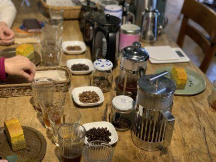 毎週木曜 森を味わうコーヒーの会 2021『雨水・春分』