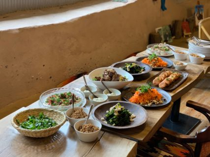 開催録~『スローな食材を楽しむ手作り発酵食vol.2~料理人安田花織さんを迎えて』