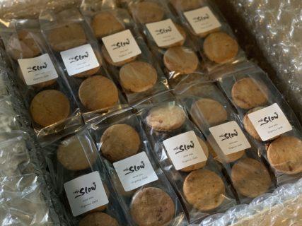 初夏の季節のヴィーガンクッキーのご用意