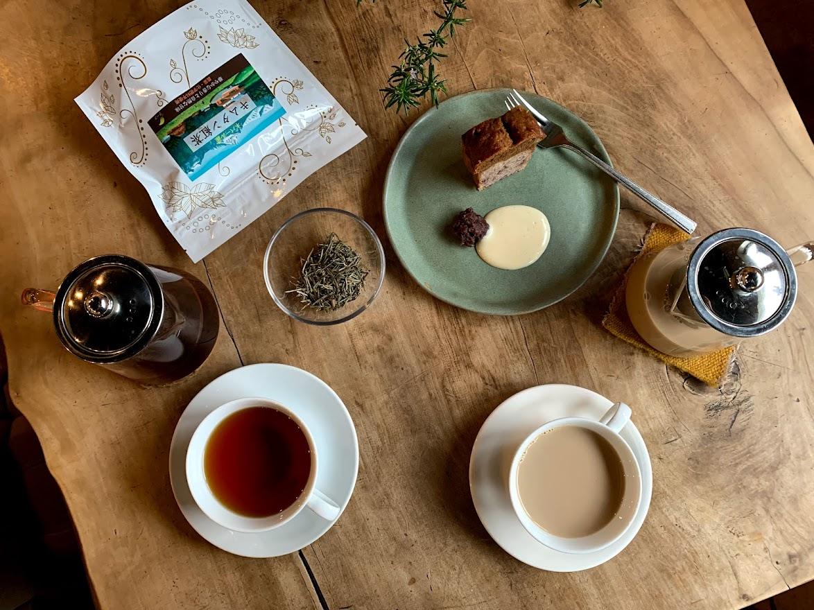 ネパール・キムタン紅茶とローズマリー塩ミルクティ~秋・seasonal drink