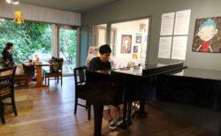 次回8/8(日) はしむかいゆうき Slow Cafe Music