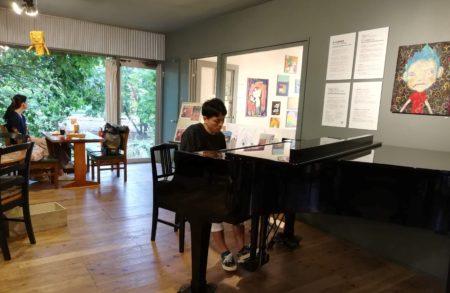 次回7/5(日)『はしむかいゆうき Sunday Slow Cafe Music 』